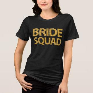 Zwarten van de Lovertjes van de Ploeg van de bruid T Shirt