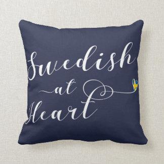 Zweeds bij Hart werpt Kussen, Zweden Sierkussen