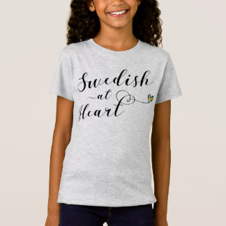 Zweeds bij het Overhemd van het T-shirt van het