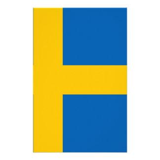 Zweedse Vlag Fullcolor Folder
