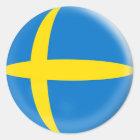 Zweedse vlag van 20 de kleine stickersZweden Ronde Sticker