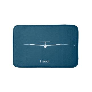 Zweefvliegtuig - ik stijg badmat