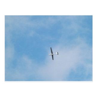 Zweefvliegtuig over Konijnenveld, Vermont Briefkaart