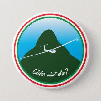 Zweefvliegtuig - wat anders? ronde button 7,6 cm