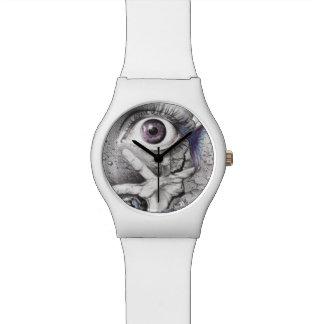 """""""Zwem"""" Horloge van de oog surreal tekening"""