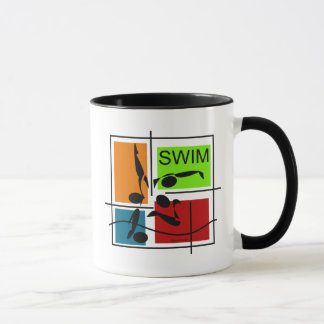 Zwem Kwartet Mok