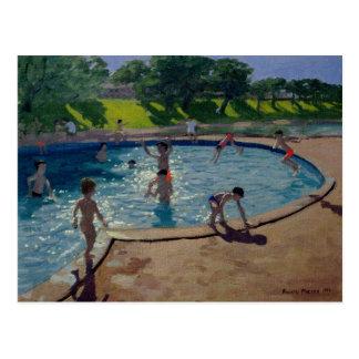 Zwembad 1999 briefkaart
