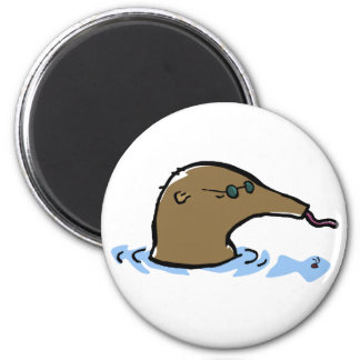 zwemmende miereneter ronde magneet 5,7 cm