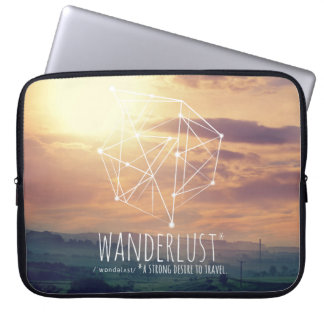 Zwerflust (heuvels): laptop sleeve