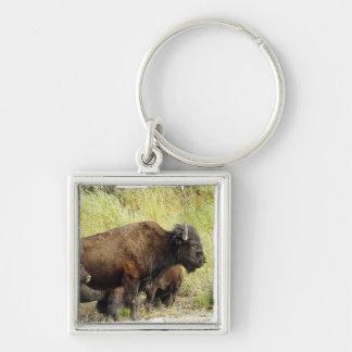 Zwervende Buffels Keychain Sleutelhanger