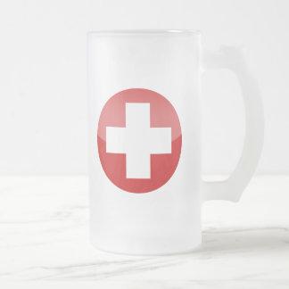 Zwitserland Matglas Bierpul