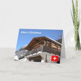 Modern Zwitsers Chalet : Chalet kaarten zazzle