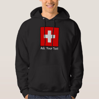 Zwitserland - Zwitserse Vlag Hoodie