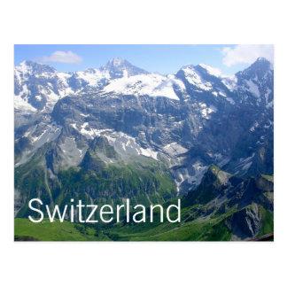 Zwitserse Alpen Briefkaart