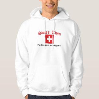 Zwitserse Tweeling Knappe Hoodie