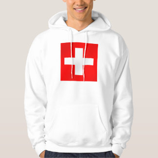 Zwitserse vlag van de giften van Zwitserland Hoodie